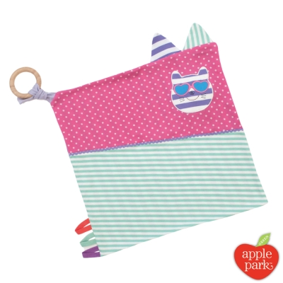 【美國 Apple Park】農場好朋友 萬用方巾 - 時尚靚貓