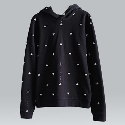 摩達客韓國進口設計品牌DBSW狙擊星星圓領長袖T恤