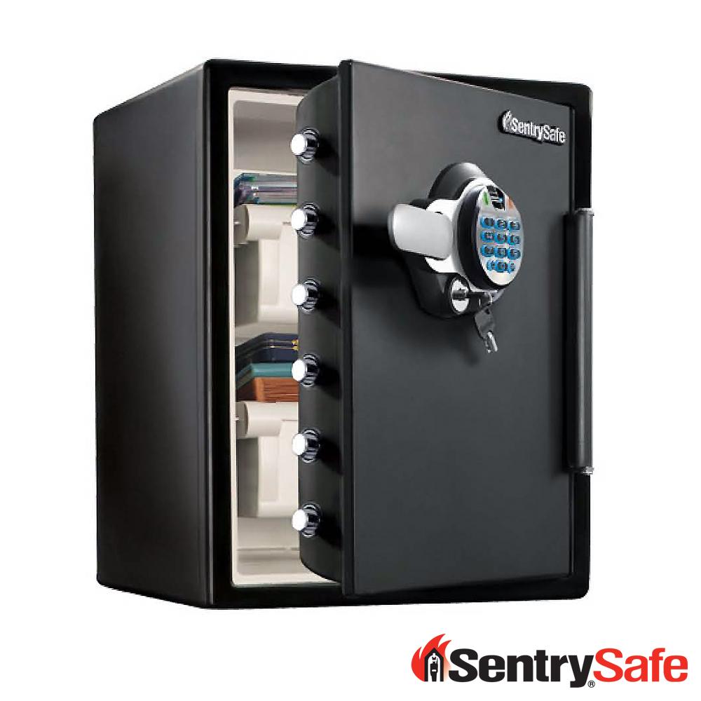 SentrySafe指紋電子按鍵鎖防水耐火保險箱SFW205BXC