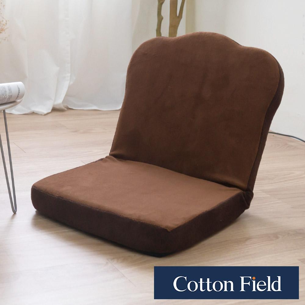 棉花田 吐司 多段式折疊和室椅-咖啡色