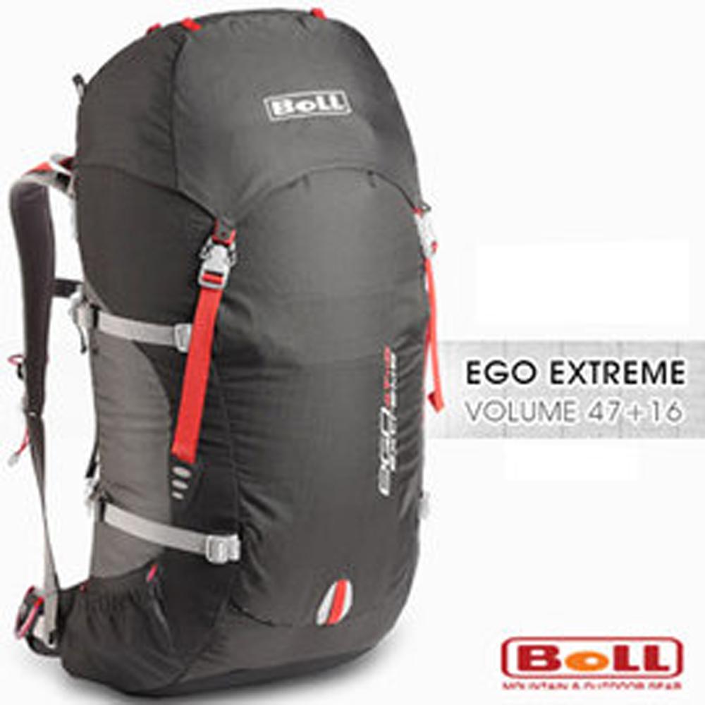 捷克BOLL新EGO EXTREME 47 16L輕量健行登山背包煤黑
