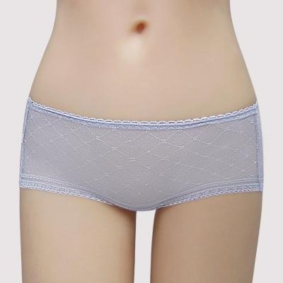 瑪登瑪朵-Soft Life  低腰平口無痕褲(光柔紫)