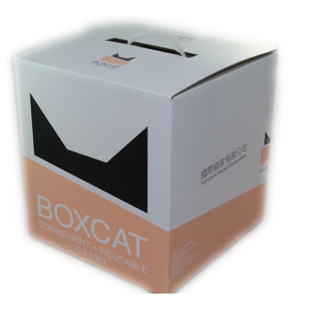 國際貓家BOXCAT 黃標-松木木屑貓砂13L(7kg)