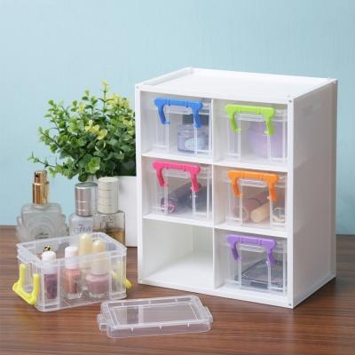 創意達人跳跳糖中型小物收納盒(6組)