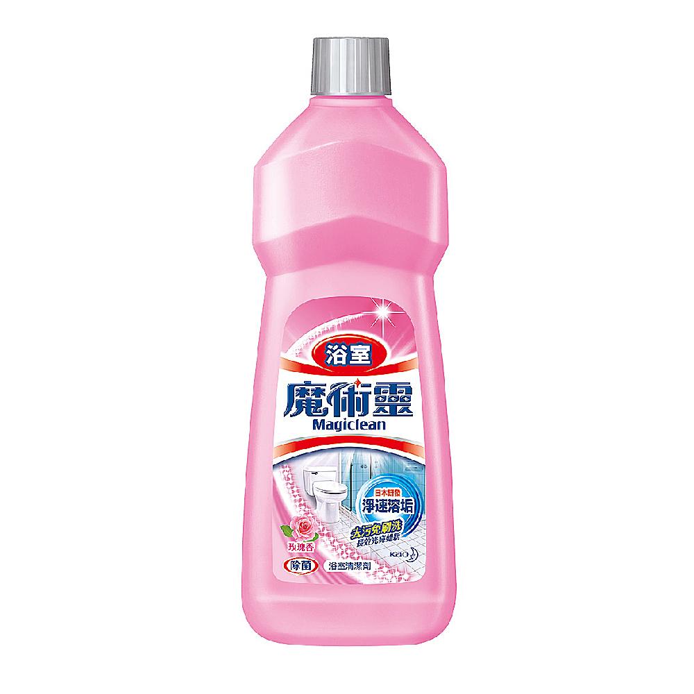 魔術靈 浴室清潔劑 經濟瓶(玫瑰香) 500ml/瓶