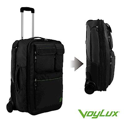 VoyLux 伯勒仕-Clebag 城市快捷系列-24吋可擴充行李箱-黑色-3688104
