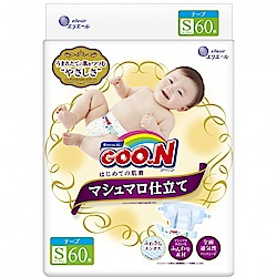 GOO.N 日本大王 棉花糖特仕紙尿褲 境內版 S 60片