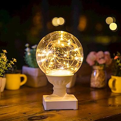 法國三寶貝 火樹銀花LED小球夜燈