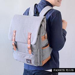 Fanste_梵仕特 帆布雅緻 多功能後背包-2011