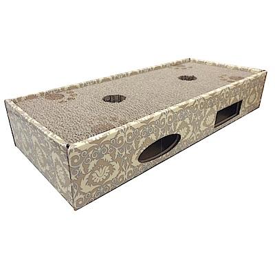MDOBI摩多比-貓丸家 瓦楞紙 四方貓咪遊戲盒