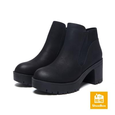 達芙妮DAPHNE-ShoeBox系列-短靴-擦色