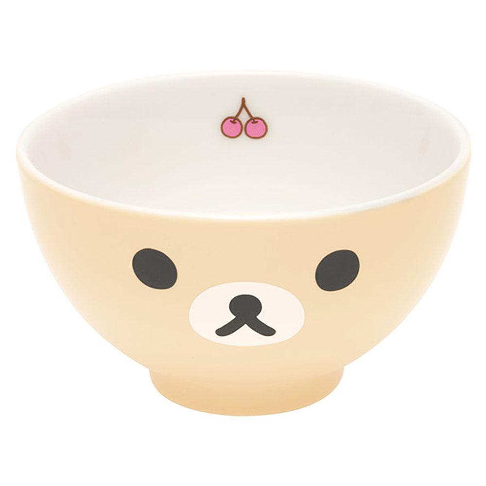 拉拉熊滿滿懶熊生活系列陶瓷飯碗。懶妹