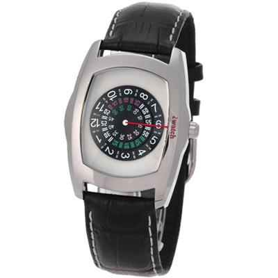 iwatch 型男索女正點個性磅秤錶-淺灰/43mm