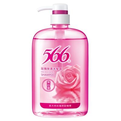 566 無矽靈玫瑰保濕洗髮露800g