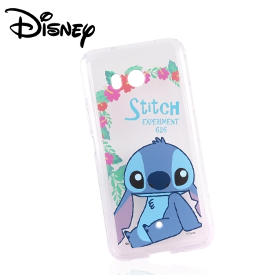 Disney迪士尼HTC U11防摔氣墊空壓保護套_賞花史迪奇