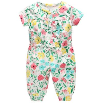 Carters 美國 春日花卉短袖連身褲
