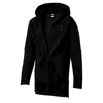 PUMA-男性流行系列Pace連帽開襟外套-黑色-亞規