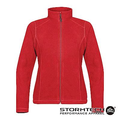 【加拿大STORMTECH】VFJ-2W超纖細刷毛保暖外套-女-紅