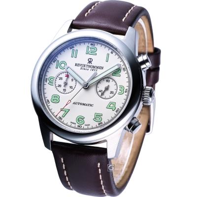 REVUE THOMMEN AIRSPEED 復古計時碼錶