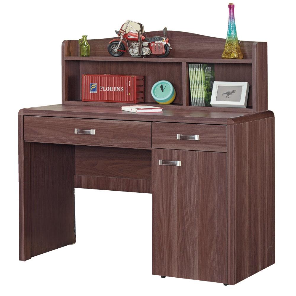 品家居 艾克斯3.7尺書桌組合-112x60x116cm-免組