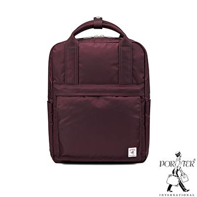 PORTER-經典氣度MA-1-時尚造型後背包-梅洛紅