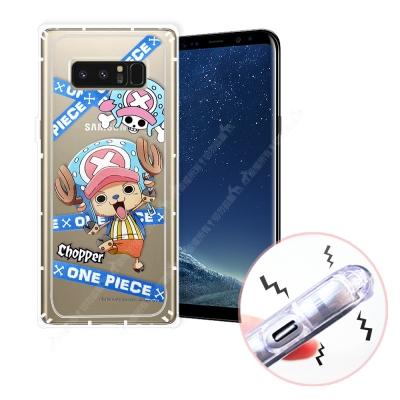 航海王 Samsung Galaxy Note 8 透明軟式空壓殼(封鎖喬巴)