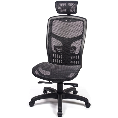 aaronation 愛倫國度 - 戰神頂規高CP值高背頭枕電腦椅