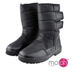 mo.oh 防水輕量男女情侶款保暖中筒雪靴