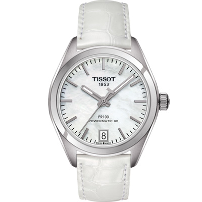 TISSOT PR 100 動力80小時女用機械錶(T1012071611100)