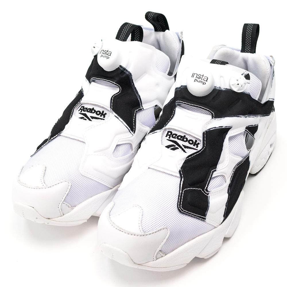 REEBOK-INSTAPUMP男休閒鞋-白黑