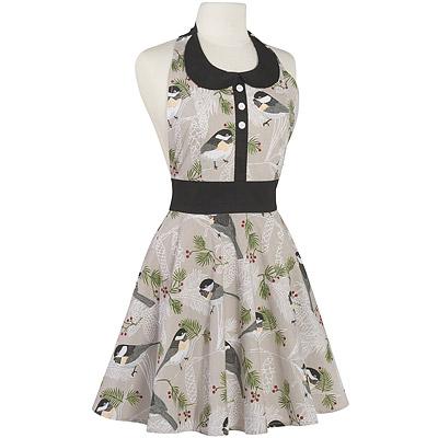 NOW 洋裝式圍裙(灰雀)