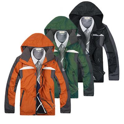 美國熊 防潑水 防風 耐污 加絨保暖 戶外登山風衣