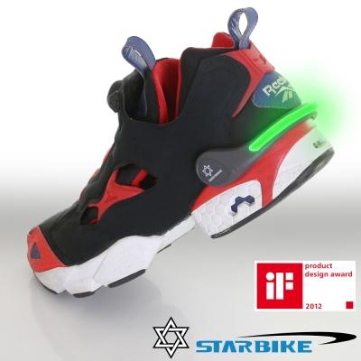 STARBIKE 安全警示運動發光環(綠)