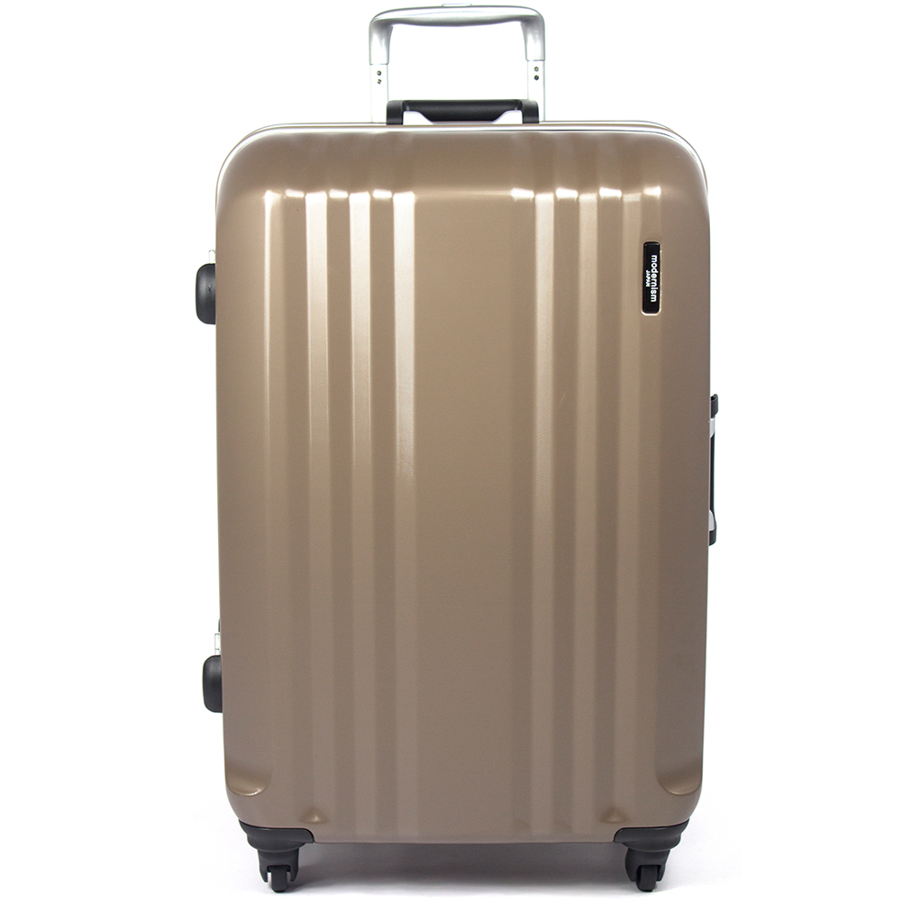 【aaronation】29吋-MOM日本品牌 PC鋁框行李箱(MF1028-29-啡)