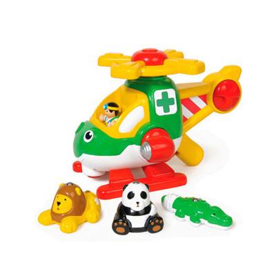 【WOW Toys 驚奇玩具】動物搜救直昇機-哈利