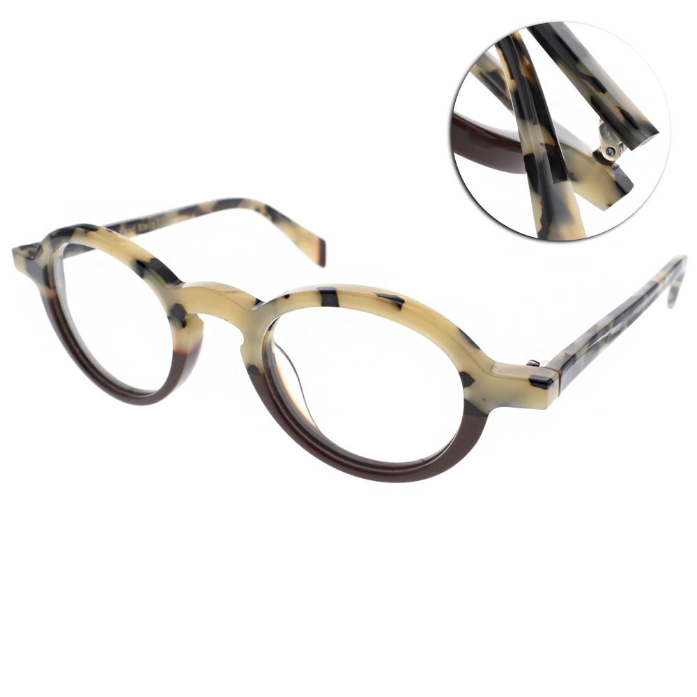 EOS眼鏡 法國手工框/象牙琥珀-棕#EOSE8325 C04