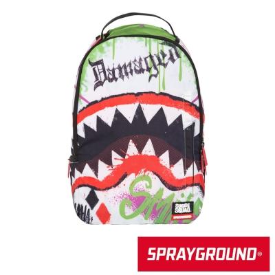 SPRAYGROUND DC 聯名系列 Joker Shark 小丑鯊魚潮流筆電後背包