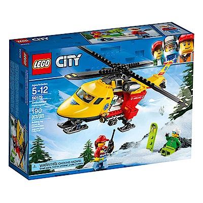 LEGO樂高 城市系列 60179 救護直升機