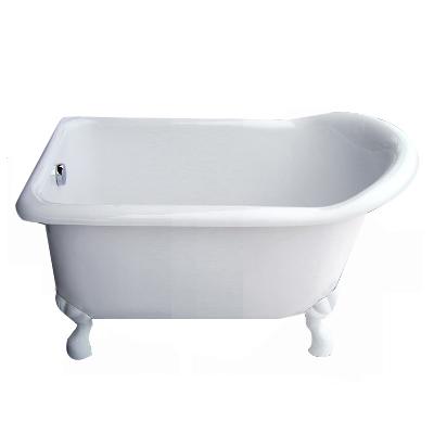 【I-Bath Tub精品浴缸】伊莉莎白-典雅白(140cm)