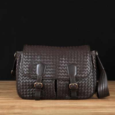 STORY 皮套王 - 羊皮編織側背包 Style 6606