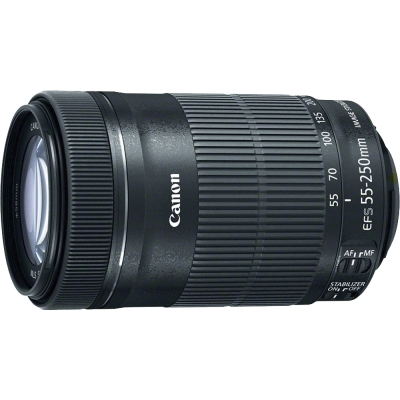 Canon EF-S 55-250mm F4-5.6 IS STM 望遠變焦鏡 (平輸-彩盒)