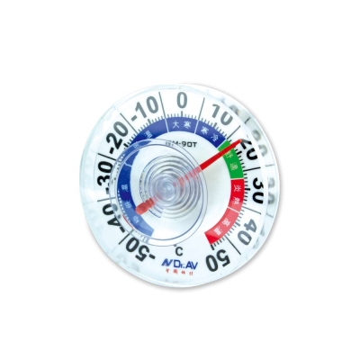 防水型室外專用溫度計(獨家七段彩色溫度刻度).GM-90T