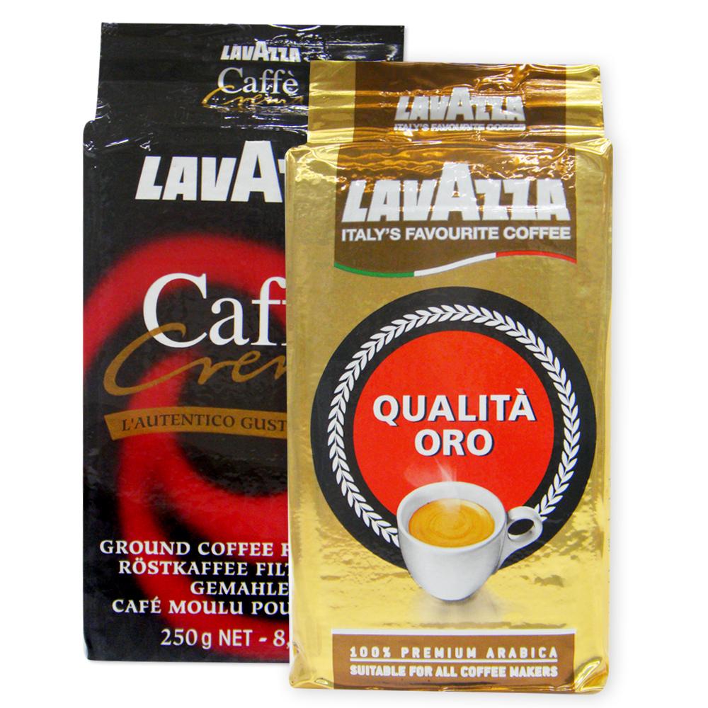 義大利 LAVAZZA Caffe Crema & QUALITA ORO 組合