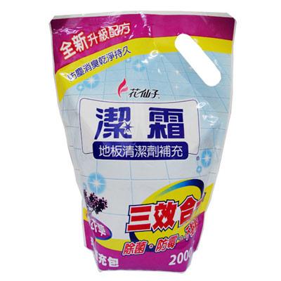 潔霜地板清潔劑-薰衣草(補充包)2000g