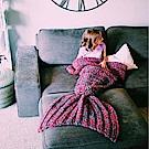 美人魚尾巴懶人針織毯