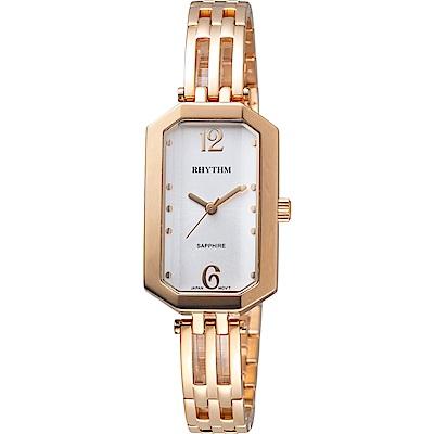 日本麗聲錶RHYTHM知性品味時尚腕錶(LE1612S06)-22x35mm