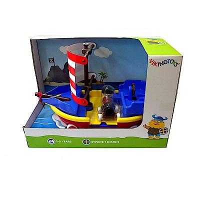 瑞典Viking Toys維京玩具-海盜船禮盒