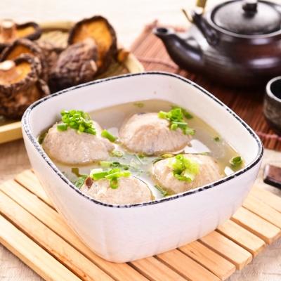 主播楊中化貢丸 寧夏夜市香菇爆漿大貢丸  2 包 ( 600 g/包)