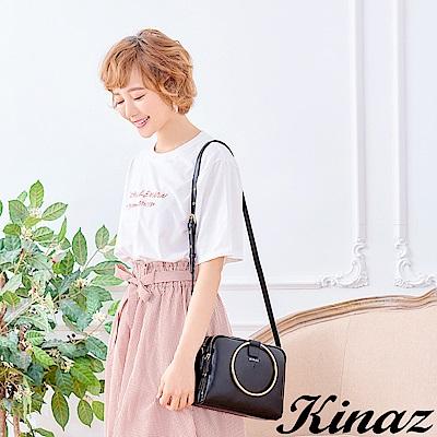 KINAZ 收藏美好兩用斜背包-謎樣黑-鑰匙系列-快