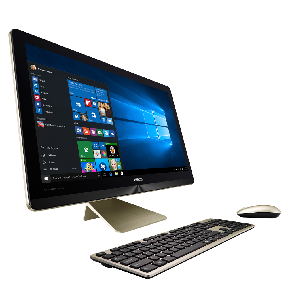 ASUS ZEN AiO Pro 24型 奢華金 i5 四核心獨顯觸控 AIO 電腦
